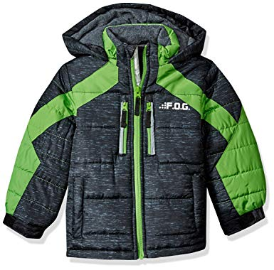 Amazon.com: London Fog Boys' Active Puffer Jacket Winter Coat: Clothing