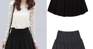 Autumn And Winter Winter Precaution Skirts Short Skirt Skirt Exposed