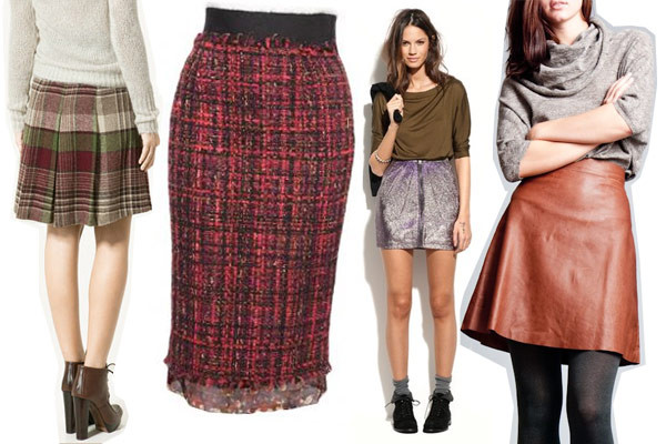 Skirts with Leggings - Warm Winter Skirts With Leggings