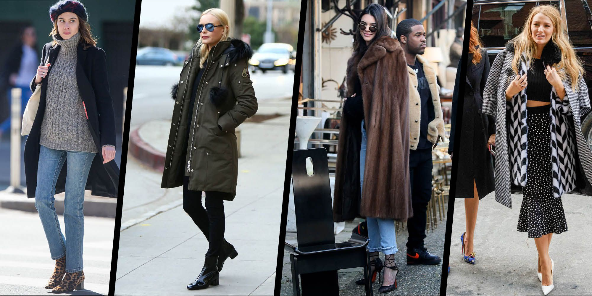 Winter style inspiration from the A-list u2013 Celebrity style
