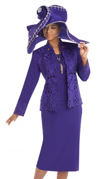Look elegant with a woman   church suits!!