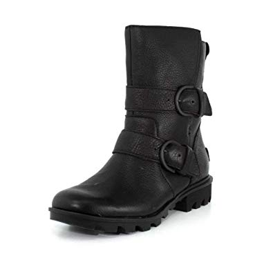 Amazon.com | SOREL Women's Phoenix Moto Boots | Shoes
