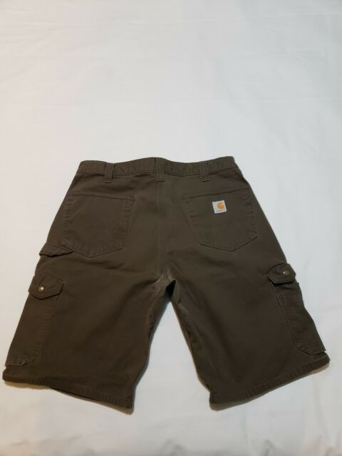 Carhartt B357 DFE Relaxed Fit Ripstop Cargo Work Shorts Mens Size 30