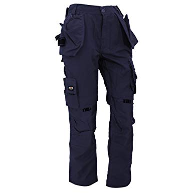 Amazon.com: Herock Mens Dagan Premium Work Trousers/Pants (38) (Navy