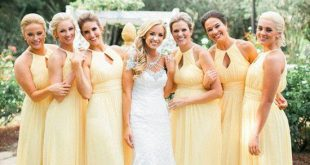 cheap bridesmaid dress, long bridesmaid dress, chiffon bridesmaid