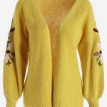 Yellow cardigan this winter   just for you