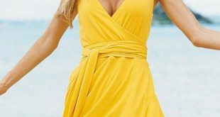 Yellow Sensational Sundresses For Women - Sensational Sundresses For