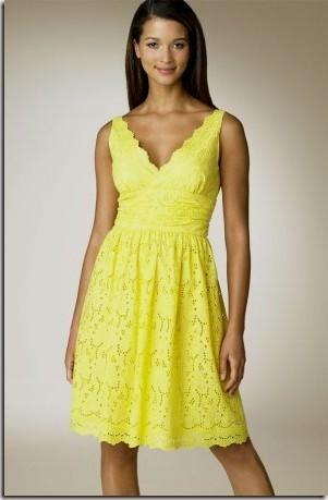 yellow sundresses Naf Dresses