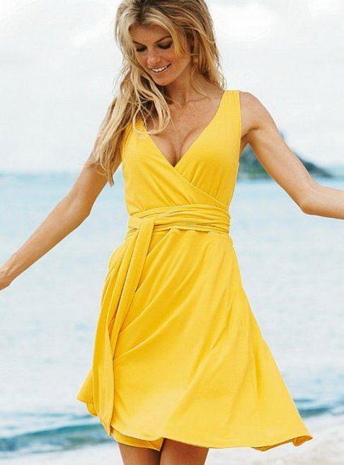 Yellow Sundress for women to   shine