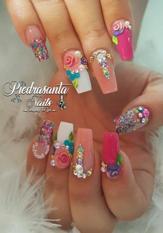 80 Trendy 3D Nail Art Designs You Will Love 2019 Jewe Blog .