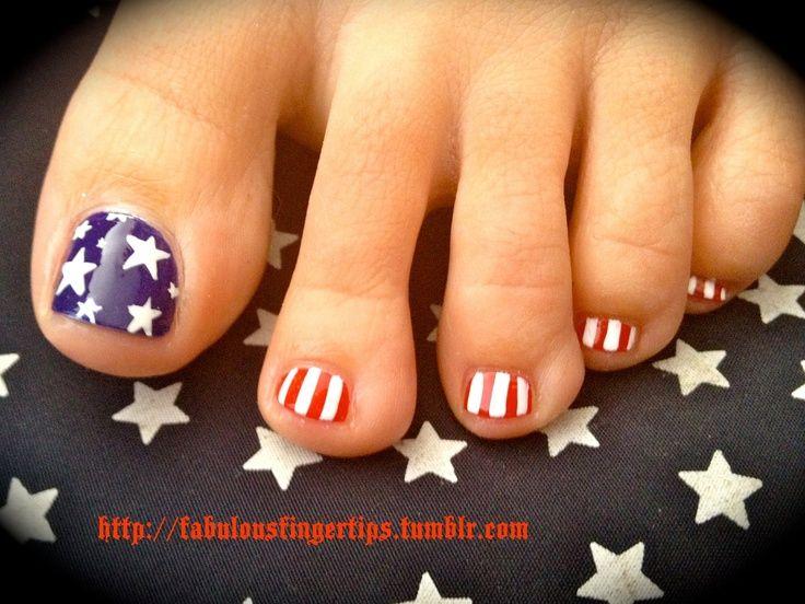 Pin by Dee Lindsay on Love Pretty Nails | Blue toe nails, Toe nail .