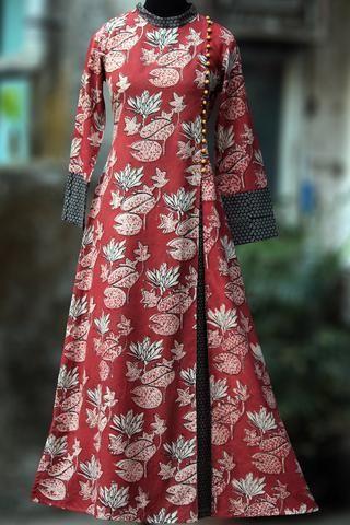 a-line dress - vermilion & the indian lotus | Clothes for women .