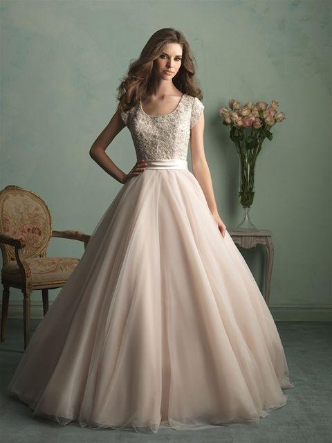 Style: M524 - Petals and Promises Bridal | Jessa duggar wedding .