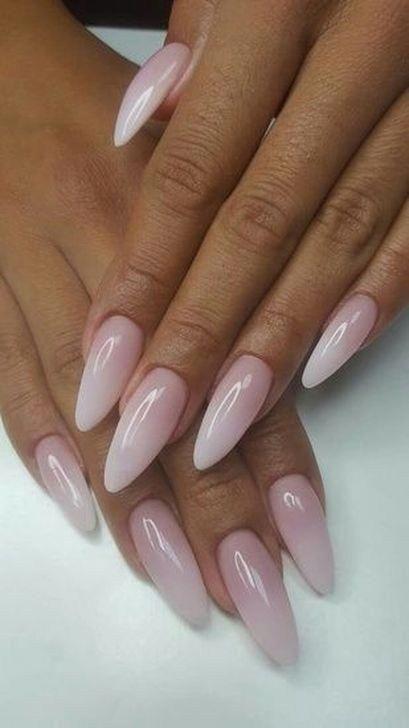 acrylic nail shapes Edge #bestnailshapes | Almond acrylic nails .