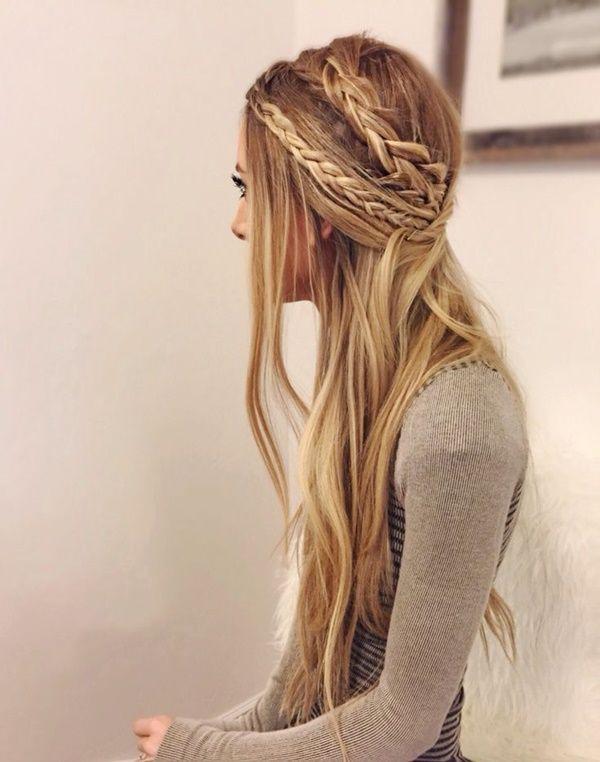 40 Adorable Hippie-Frisuren, damit Sie cool aussehen | Hair styles .