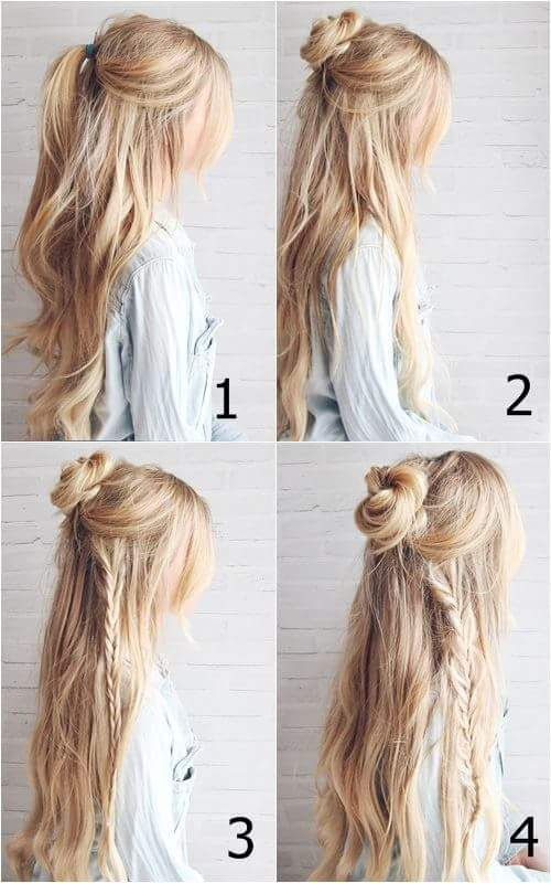57 Amazing Hippie Hairstyles for a Perfect Boho Chic Look | Braids .