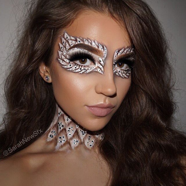 Angel makeup✨ any excuse to cover myself in rhinestones | Amazing .