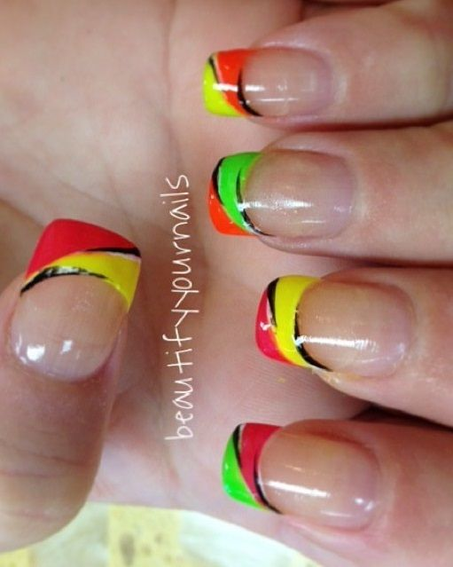 Awe-Inspiring 50 Summer Manicure Ideas | Summer manicure, Manicure .