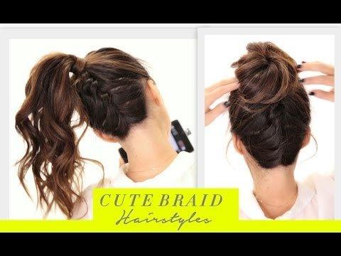 ☆Cute BRAIDS BACK-TO-SCHOOL HAIRSTYLES Hair Tutorial   Braided .