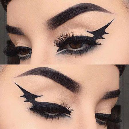 15-spooky-halloween-eye-makeup-ideas-looks-2016-16 … | Halloween .