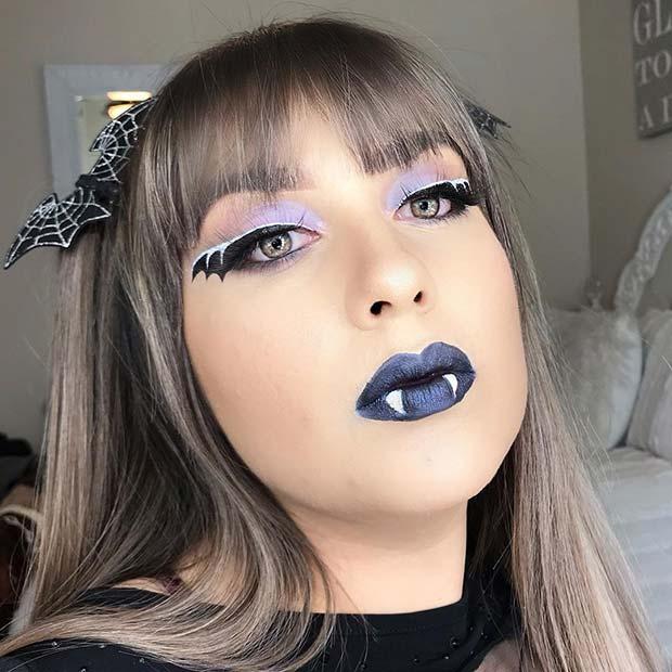 21 Bat Makeup Ideas for Halloween 2020 – Women Style Bl