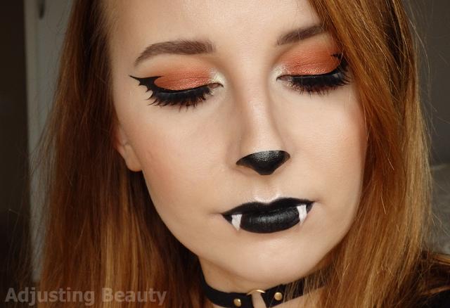 Cute Bat Halloween Makeup | Halloween party makeup, Bat makeup .