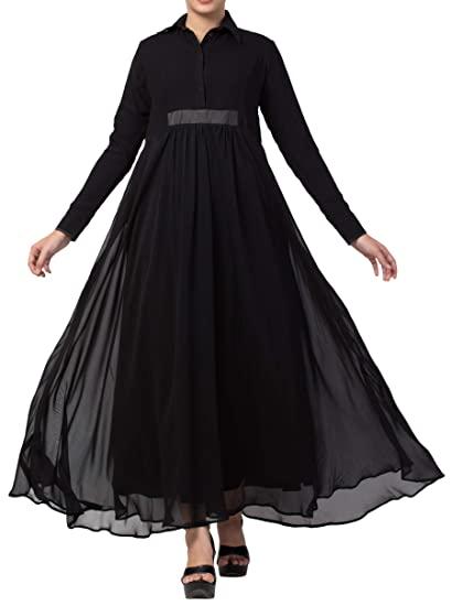 Buy Mushkiya Beautiful & Stylish full Length Maxi Abaya Dress For .