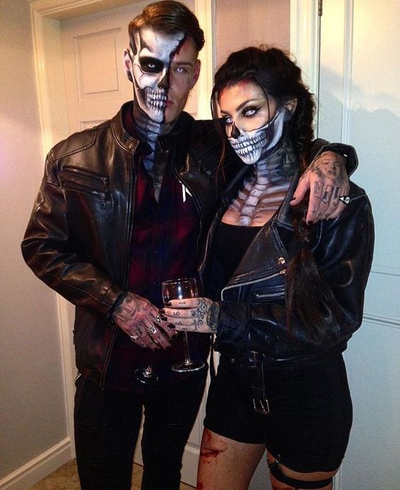 30 Scary and Funny Couple Halloween Costumes DIY Ideas for Unique .