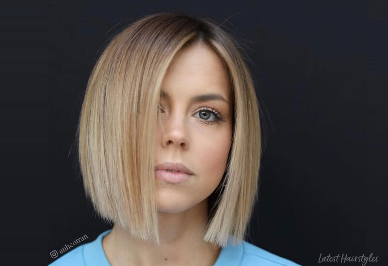 14 Best Blunt Cut Bob Haircuts for Every Face Sha
