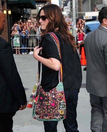Boho bags-Julia Roberts | Boho bags, Fashion, Bo
