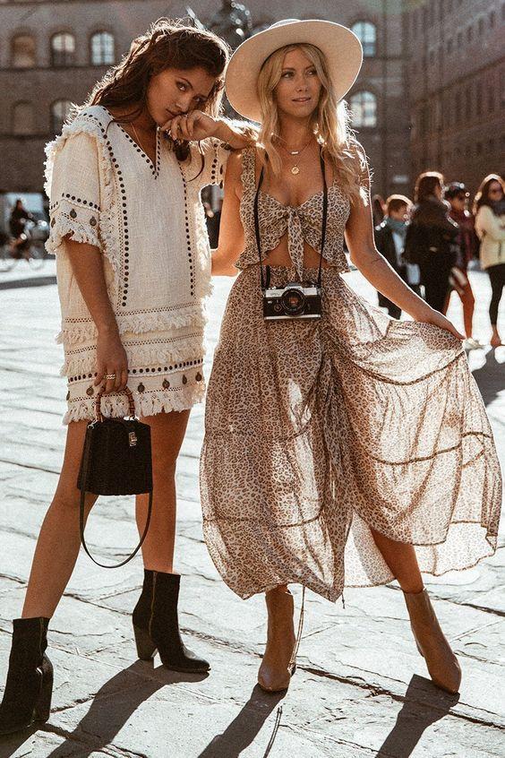 Boho Chic Fashion Ideas | Boho chic fashion, Spring outfits boho .