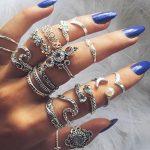 Boho Ring Set Designs