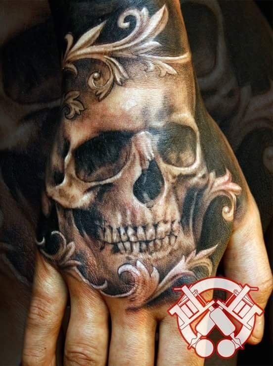 44 Bold Skull Tattoos To Celebrate Your Mortality #celebratio .