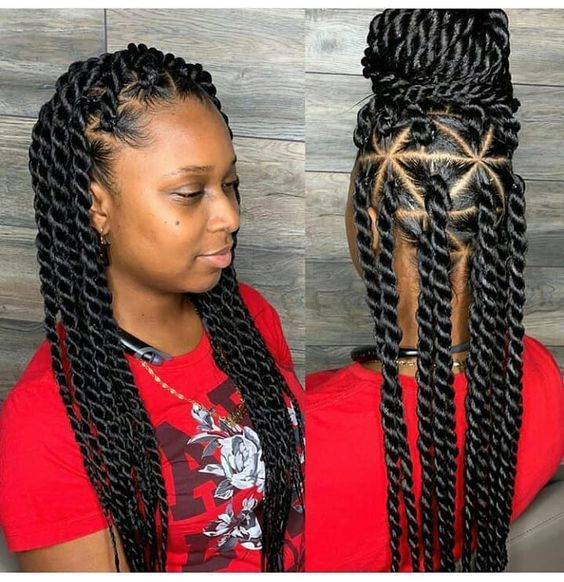 RECENT NEW BRAIDING HAIRSTYLE# LATEST 2019 BOX BRAIDS STYLES .