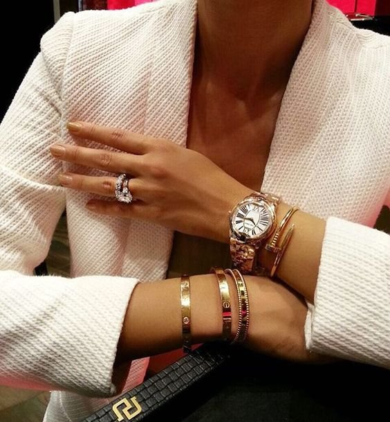 Jewelry Stacking Ideas: How to Use, Match, Wear, Stack Cartier .
