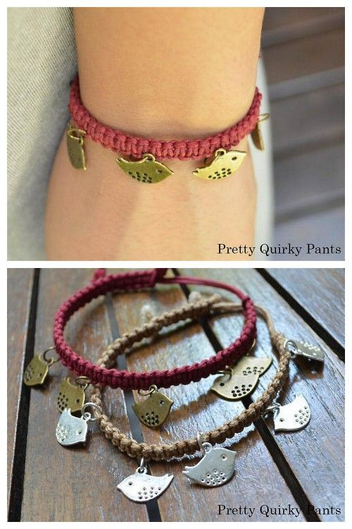 Pin by Sandy Carlson-Kaye on jewelry | Diy charm bracelet, Easy .