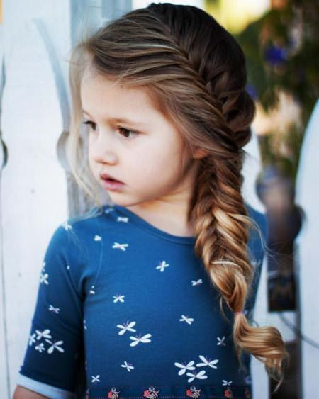 20 simple braids for kids. Braided hairstyles for little girls .