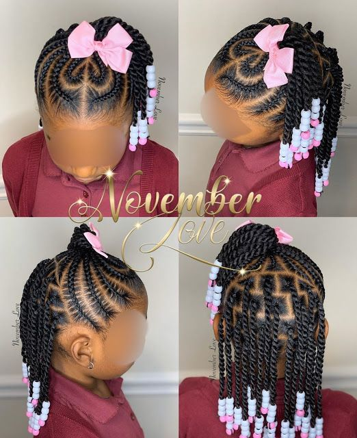 2020 Gorgeous Braids for your Lovely Kids | Toddler braided .