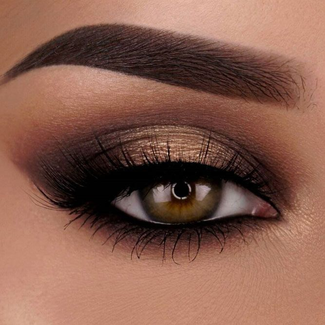 36 Flattering Ideas For Light Brown Eyes Makeup | Makeup eyeshadow .