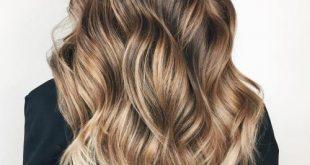 20 Natural-Looking Brunette Balayage Styl