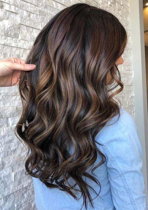 Brunette balayage in 2020 | Balayage hair, Balayage brunette .