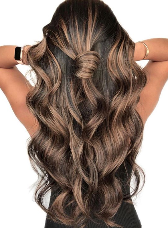 Gorgeous Dimensional Brunette Balayage Hair Color Shades in 2019 .