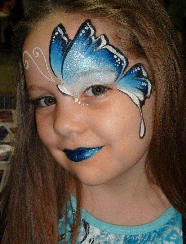 kids halloween makeup ideas easy face painting ideas for halloween .
