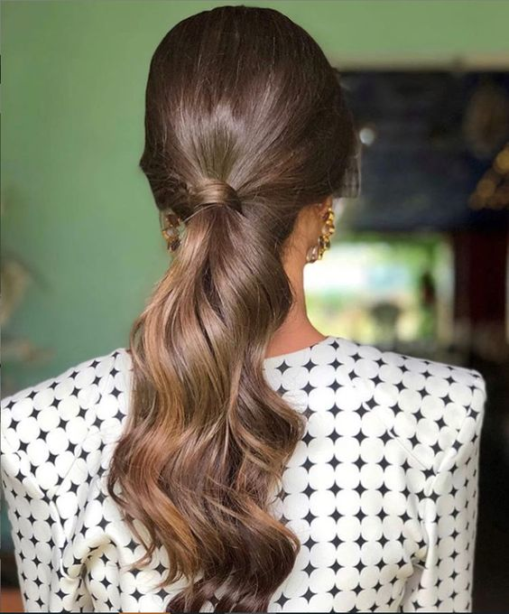 Long and Beautiful Ponytail Hairstyle for Women - Page 7 of 20 .