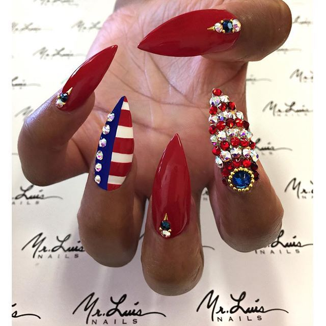 The Best 4th July Nail Art Designs for Some Fun DIY time with Your .