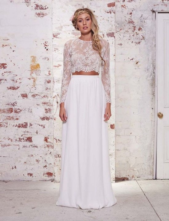 25 Whimsical Beautiful Bohemian Wedding Dresses | Deer Pearl Flowe