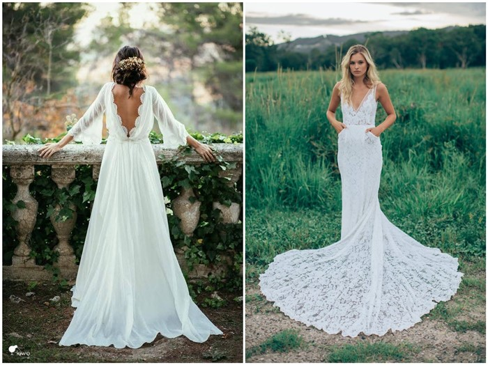 18 Dream and Chic Bohemian Wedding Dresses - ChicWe