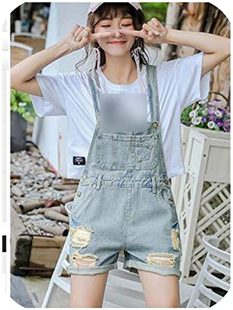 madows shorts Jumpsuit Denim Overalls for Women Chic Style Summer .
