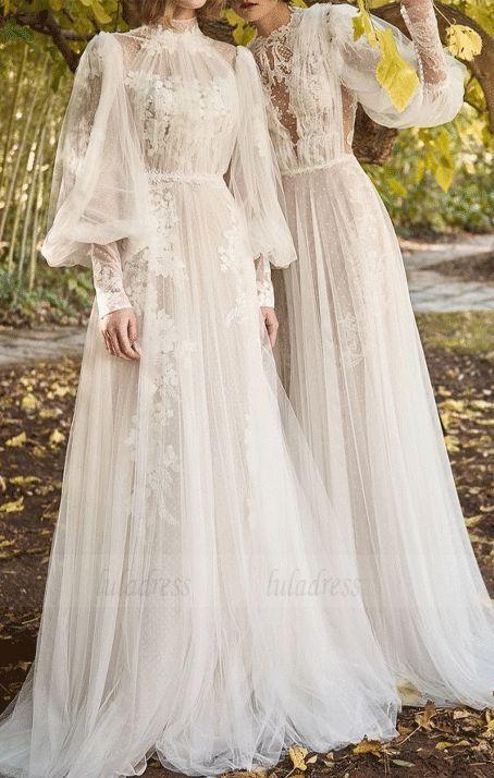 Elegantes Brautkleid Boho Chic #bride, BD99639 - brautkleid .