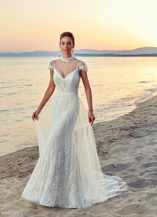 2019 Boho Chic Wedding Dresses - Weddings Romantiq